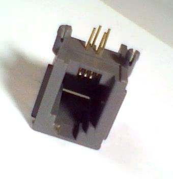 Femea para RJ12 4p4c Placa 30.23.012