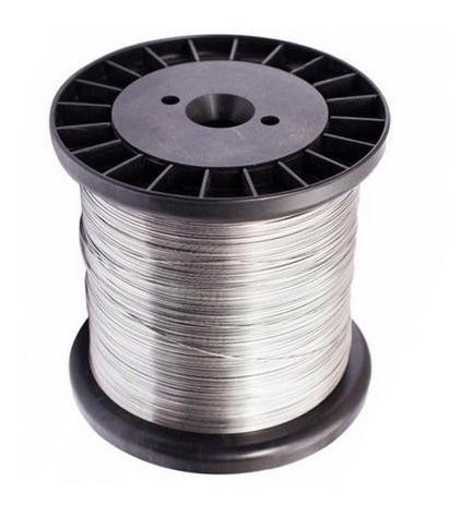Fio Aço Inox 0,45mm para Cerca  Bobina 500 gramas  10.36.002.1