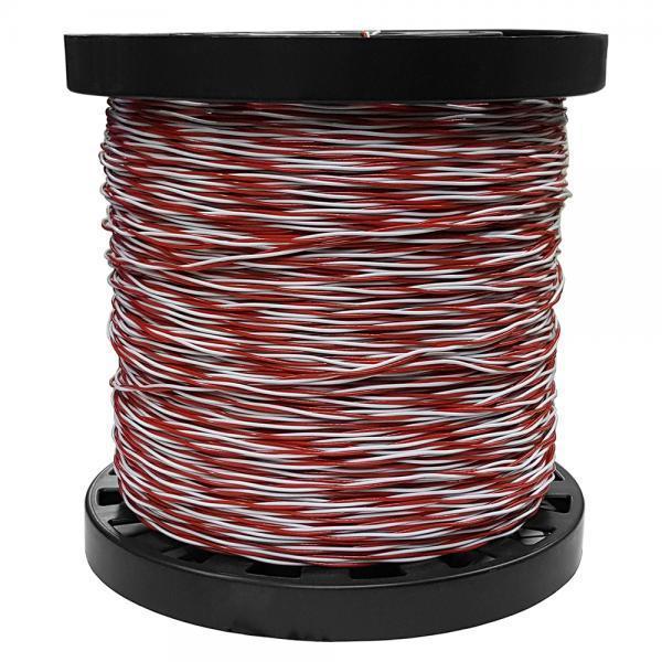 Fio Jumper 50/2 Vermelho/Branco10.17.004