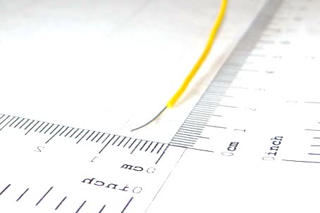 Fio Solido 0,13mm2 26 Awg Sn Amarelo 10.22.004AM