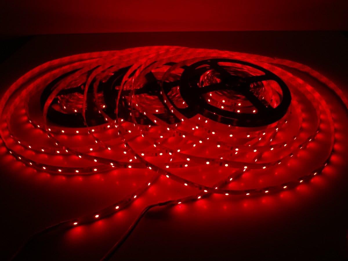 Fita de LED SMD Vermelha Preço de Aproximadamente Metro 23.099