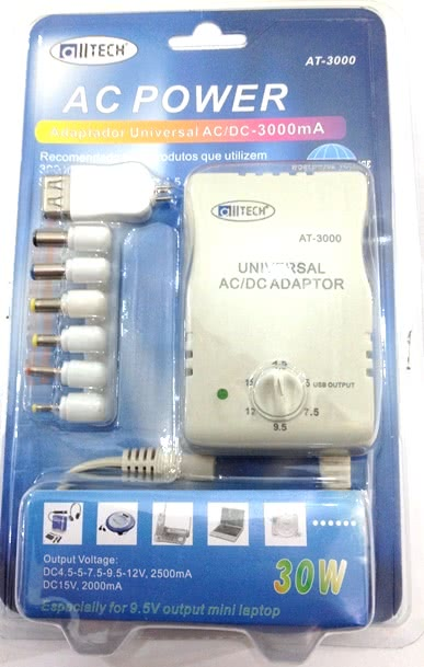 Fonte Multipla Bivolt Chaveada 8 Plugs 3A XXC FX-FU.2 48.187