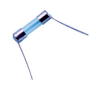 Fusivel Vidro Pequeno Axial com Fio 5x20 5A