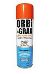 *Graxa para Mecanismo Branca Spray 300ml Orbigrax 70.036.1