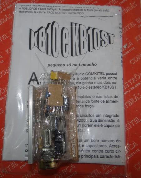 Kit Amplificador Mono 10W KB10M Comkitel 43.06.018
