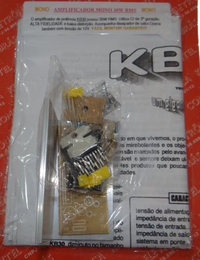 Kit Amplificador Mono 30w KB30 Comkitel 43.06.011