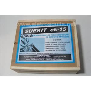 *Kit Confecção Circuito Impresso CK15 Ceteisa 42.045.15