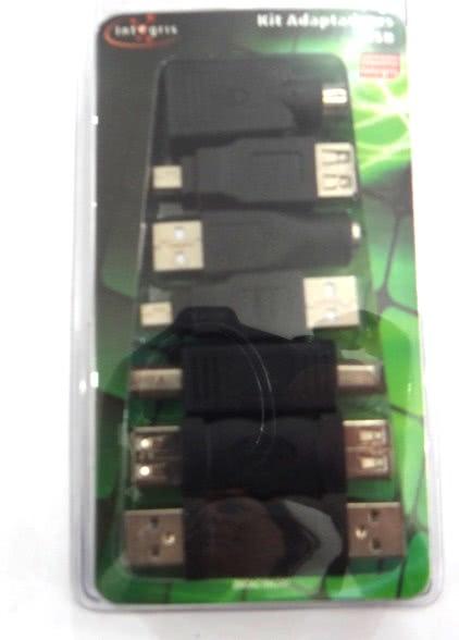Kit de Adaptadores Simples USB 25.129