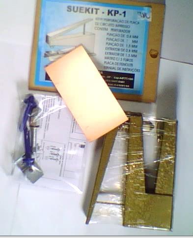 Kit para Perfuração de Placa Circuito Impresso KP1 Ceteisa 42.045.1