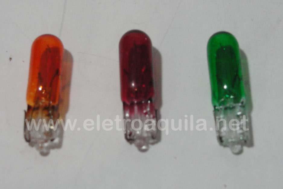 Lampada 12V x 1,2W Verde D2721 Daishin 22.12.001VD