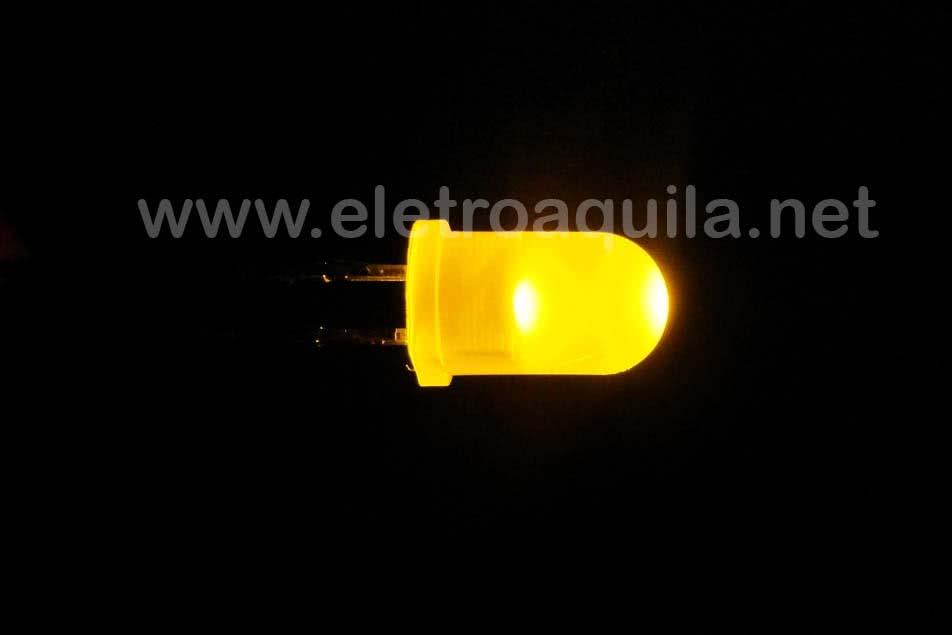 LED  5mm Amarelo Transparente 23.022.1