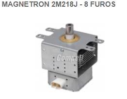 Magnetron 2M218J (730) 8 Furos 93.14.103
