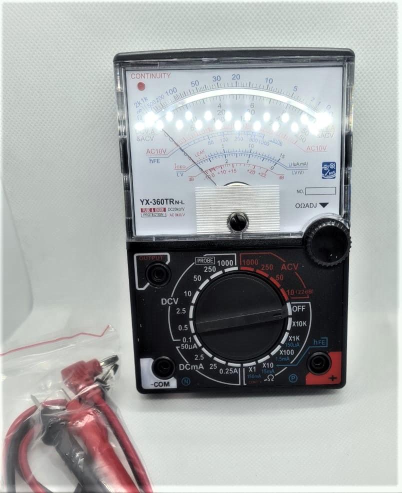 Multimetro Analogico YX360GTRN 46.016.2
