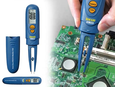Multimetro Digital com Pinça para SMD HKSMD Hikari 21N069U