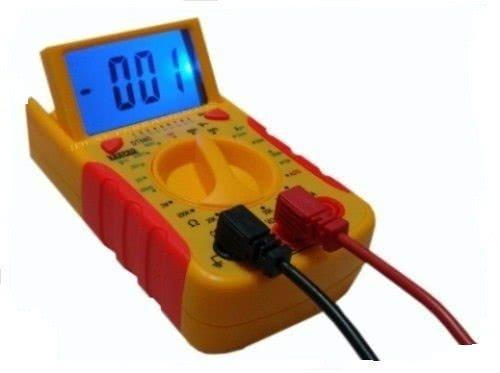 Multimetro Digital com Teste de Cabo de Rede DT68D