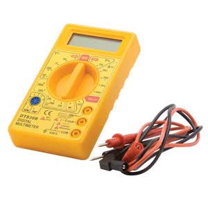 Multimetro Digital DT830B Amarelo