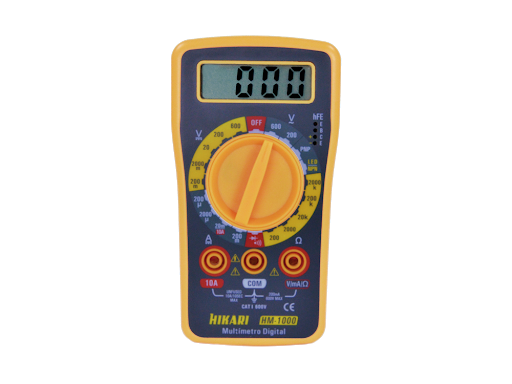 Multimetro Digital HM1000 Hikari 21N079U  - NPEDRMIS