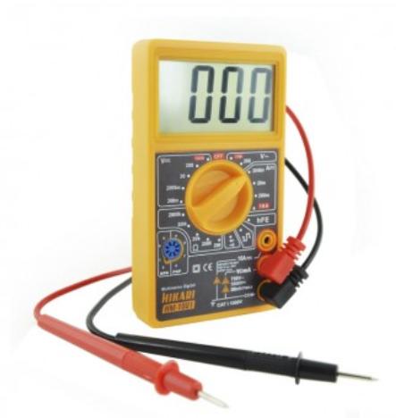 Multimetro Digital HM1001 Hikari 21N240