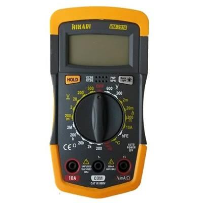 Multimetro Digital HM2010 Hikari 21N136
