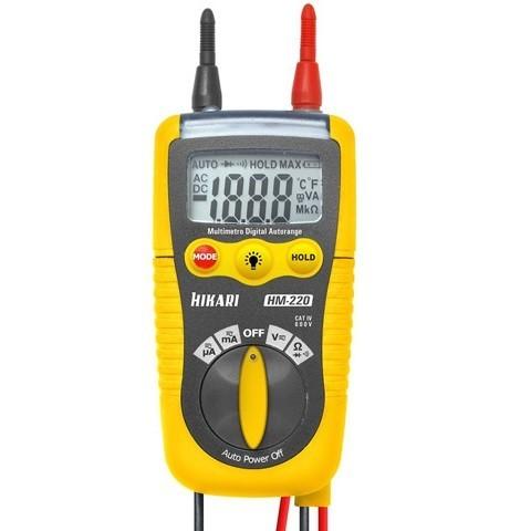 Multimetro Digital HM220 Hikari 21N139