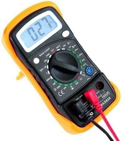 Multimetro Digital MAS838