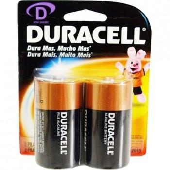*Pilha Grande Alcalina Duracell D com 2 45.09.003