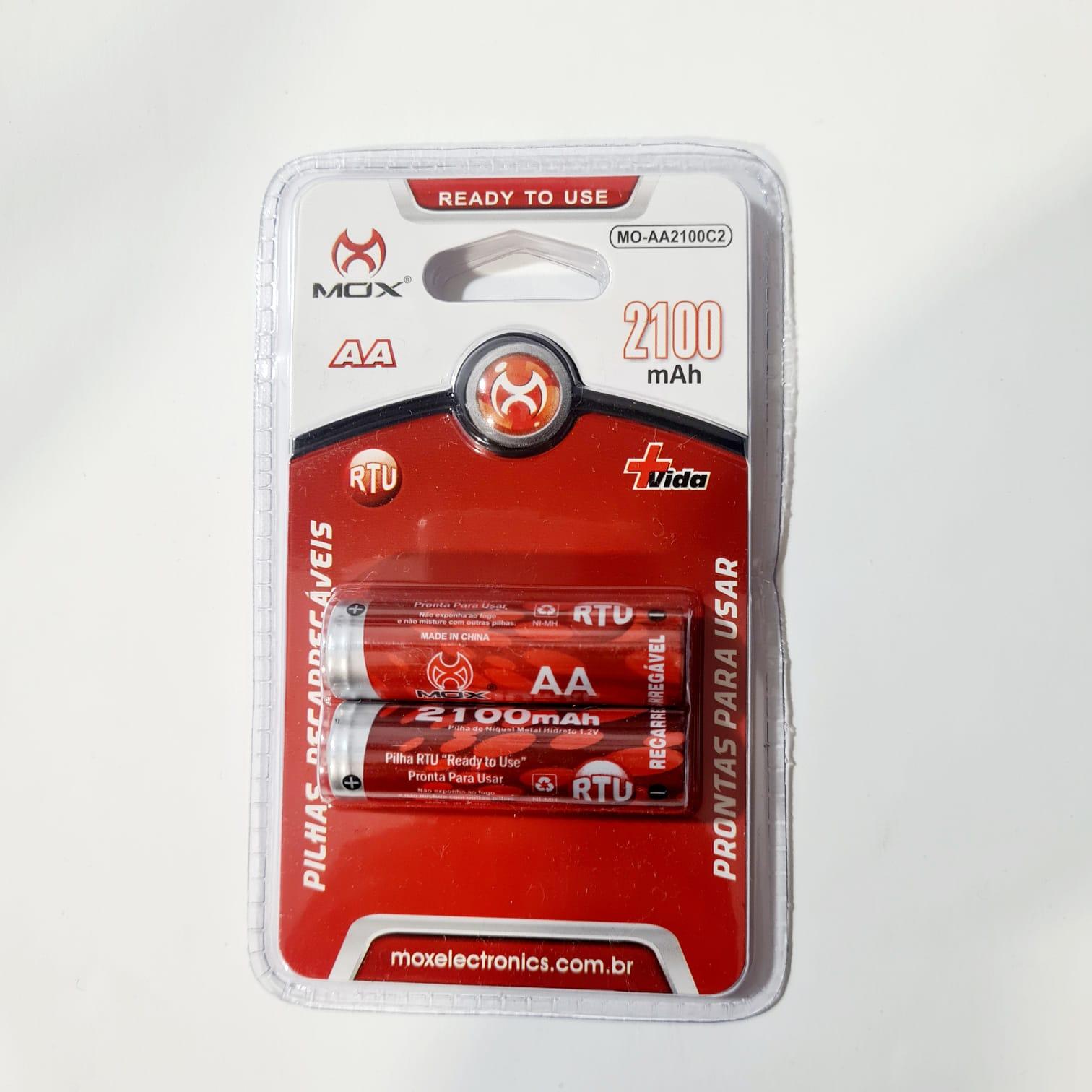 Pilha Recarregavel Pequena AA com 2 XXC FX-AA29B2 45.07.010