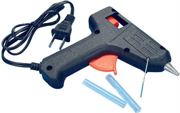 Pistola de Cola Quente Grande Bivolt 110/220 volts Max. 40W 50.020.2