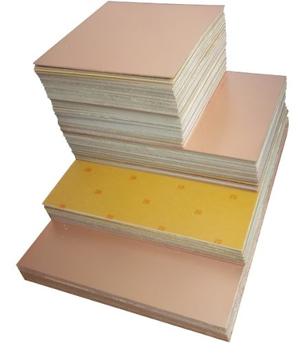*Placa Fenolite Face Simples 25 x 40 cm Comkitel 43.041