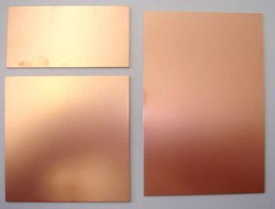 *Placa Fibra Vidro Face Simples 20 x 20 cm Comkitel 43.060.1