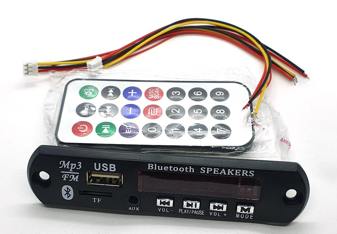 Placa P/ Amplificador Modulo Usb Mp3 Player com bluetooth 25.138.1