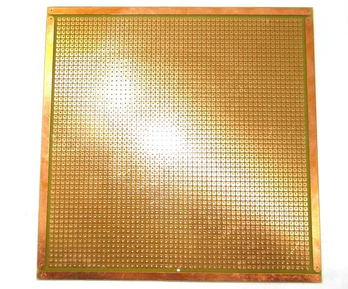 Placa Padrão Fibra de Vidro Ilha 150 x 150 com    Furos Idall 43.107