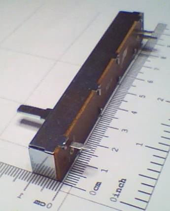 Potenciometro Deslizante P10KA 60mm 91.12.021