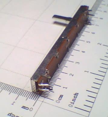 Potenciometro Deslizante P10KB Mono 60mm 91.12.016