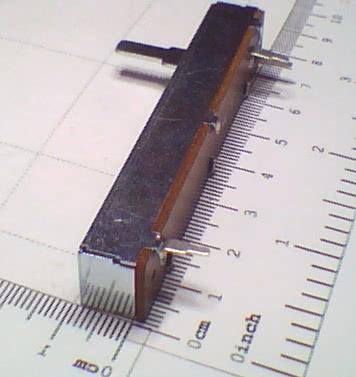 Potenciometro Deslizante P20KB 45mm 91.12.007