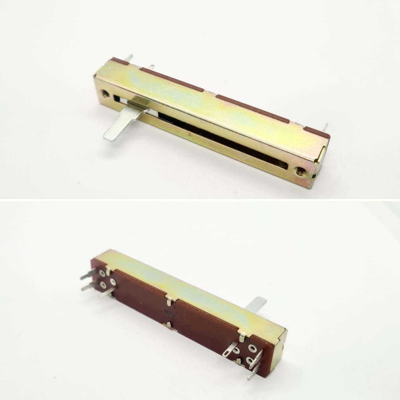 Potenciometro Deslizante P50KAx2 ST 45mm 91.12.012