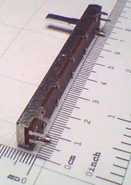 Potenciometro Deslizante P50KB Mono 60mm 91.12.017
