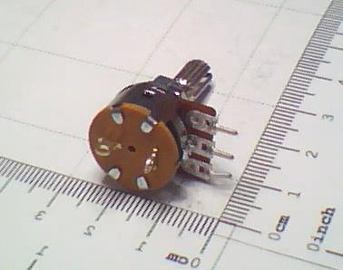 Potenciometro Linear com Chave Mini P10K 91.23.002