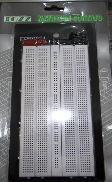 Protoboard 1280 Pontos 1 Barra com Suporte 46.039.10