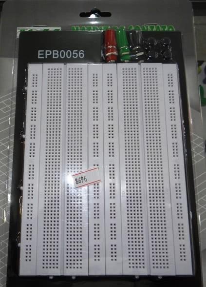 Protoboard 1280 Pontos 4 Barra com Suporte 46.039.12