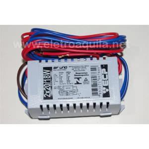 Reator Eletronico 2X20W X 110/220V 20.056.3