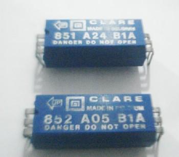 Rele Clare Mercury Wetted Relay 851 A24 B1A - 851A05B1A-852