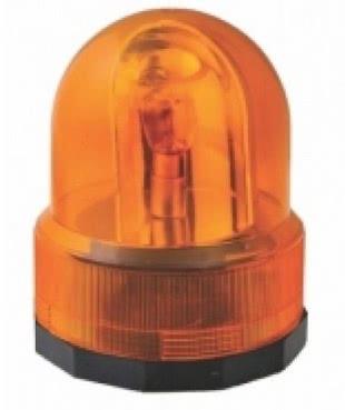 Sinalizador Giratorio Giroflex 12v Amarelo Lampada Incandescente 70.022