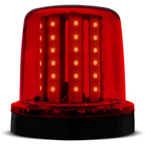 Sinalizador Giratorio Giroflex 12v Vermelho LED 70.023