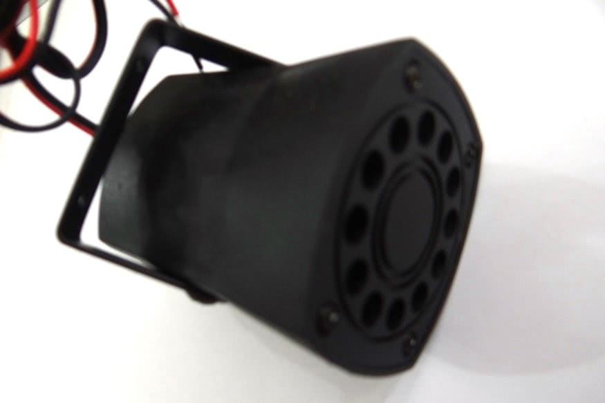 Sirene 12V Piezo DG80 1 Ton 49.076