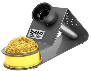 Suporte para Ferro de Soldar com Esponja Metalica Hikari 21K172