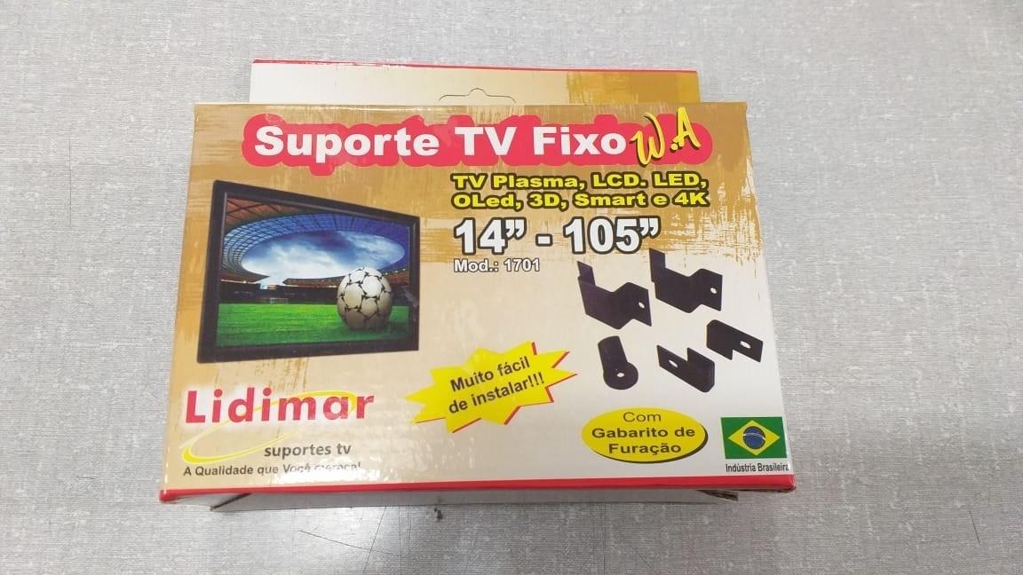 Suporte para TV Plasma, LCD e LED Universal Parede para até 84/105