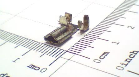 Terminal Encaixe Femea Triangular Metal 90° 90.058 Caixa 4