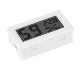 Termo-higrometro Digital Branco 46.003BR