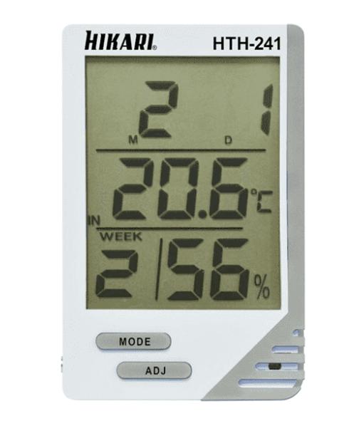 Termo-Higrometro Digital HTH241 Hikari 21N237